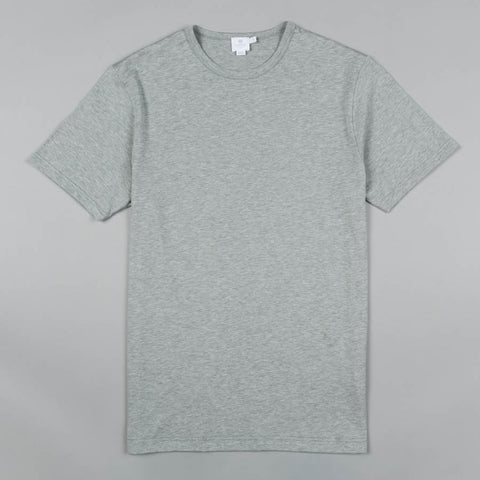 SUPERFINE CREW NECK GREY MELANGE