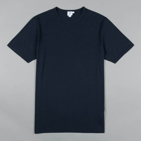 SUPERFINE CREW NECK NAVY