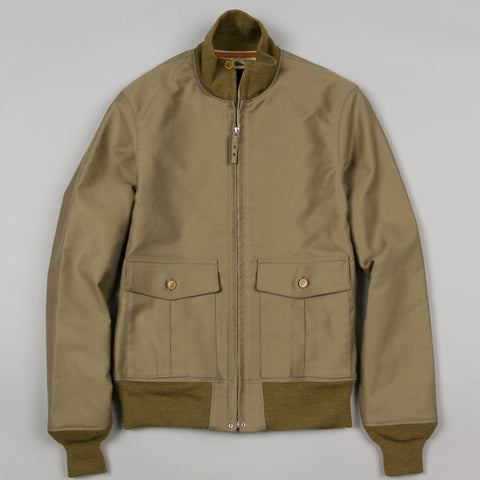 STYLE 37J1B A. ZIELINSKI CO. FLIGHT JACKET KHAKI