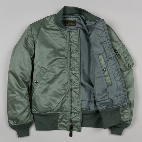 TYPE MA-1 FLIGHT JACKET SAGE