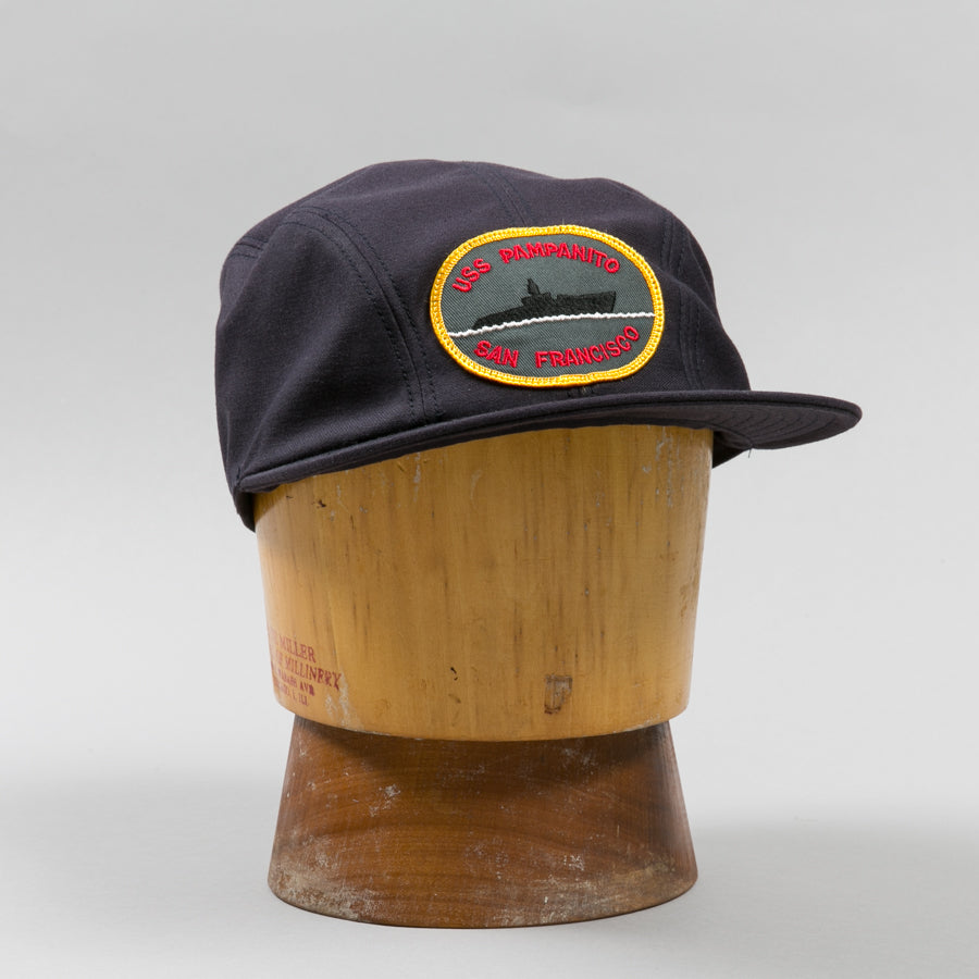a744b01f702 THE REAL McCOY S-USN UTILITY CAP USS PAMPANITO NAVY-Supply   Advise ...