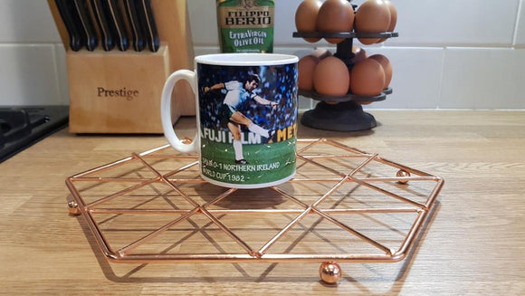 Gerry Armstrong Spain 82 Mug