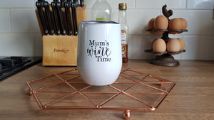 Mums Wine Time Tumbler