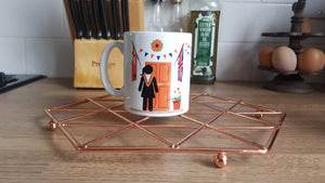 12th July 2020 Orange Woman Mug