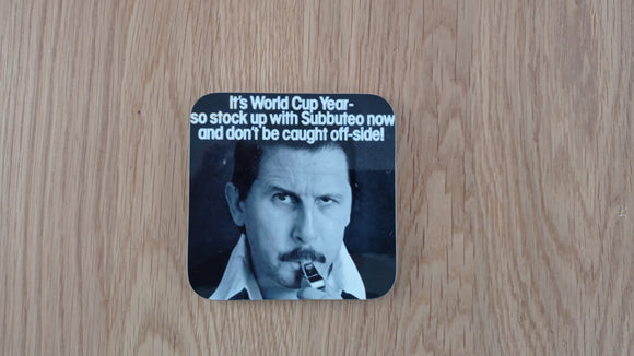 Referee Subbuteo Coaster