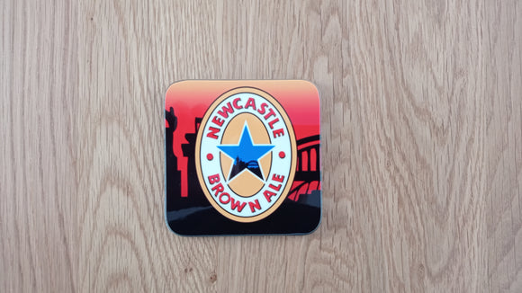 Newcastle 1996 Home GK Coaster