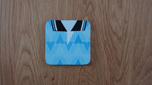 Manchester Blue 1989 Home Coaster