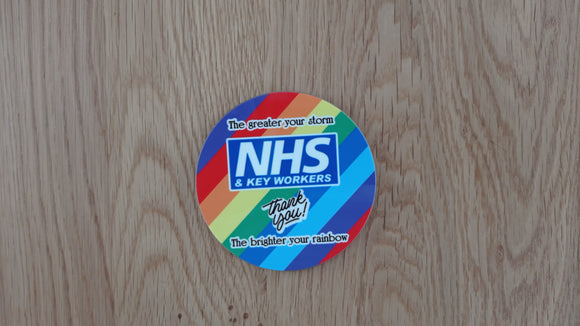 NHS & Key Worker Coaster