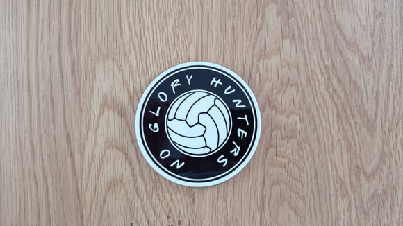 No Glory Hunters Coaster