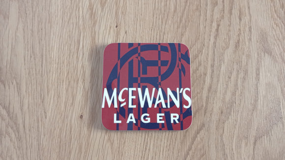 Rangers 1994 Away Coaster