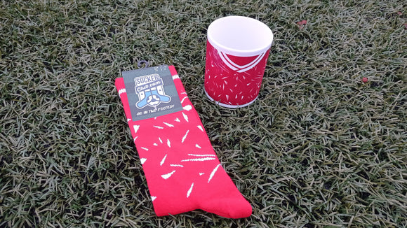 Liverpool Retro Socks