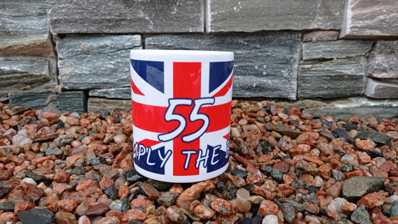 Rangers #55 Union Flag Mug