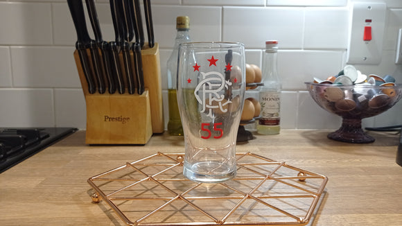 Rangers #55 Pint Glass
