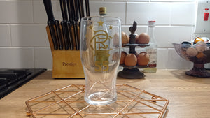 Rangers #55 Gold Pint Glass (Limited Edition)