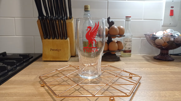 Liverpool YNWA Pint Glass