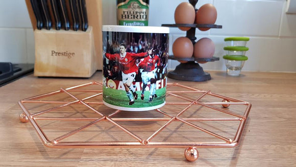 Solskjær Champions League Mug