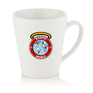 Saints World Latte Mug