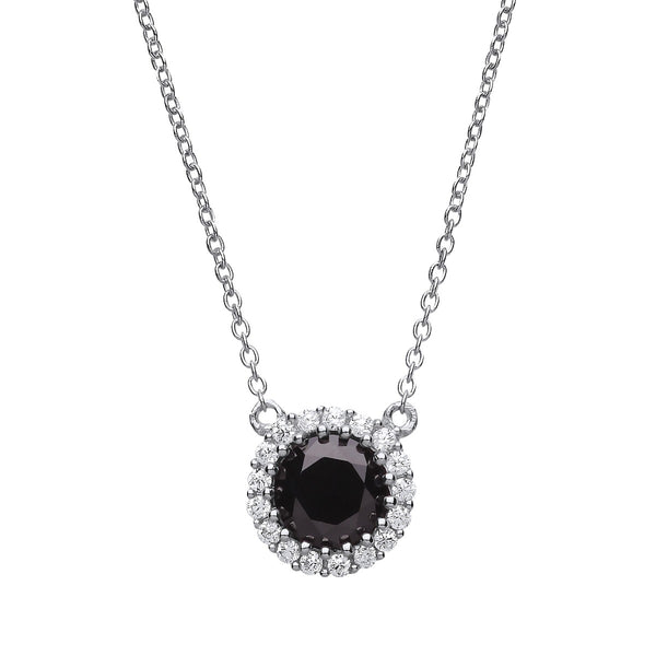 Black Halo Necklace