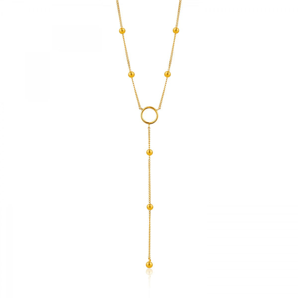 Ania Haie Y Drop Chain Necklace