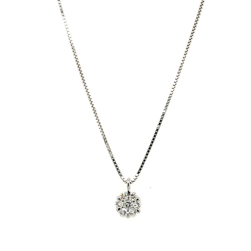 Image of Cunningham's Diamond Collection Illusion Pendant