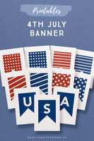 4th of July Printable Banner*