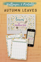 Autumn Leaves Wallpaper and Printables*