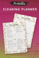 My Cleaning Planner Printables*