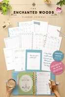 Enchanted Woods Planner Journal (176 Pages)
