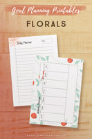 Goal Planning Printables*