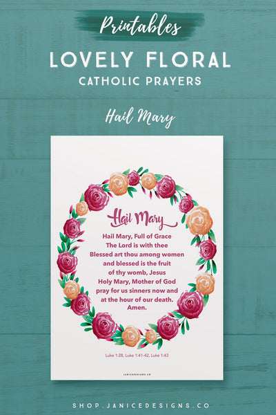 Prayer: Hail Mary