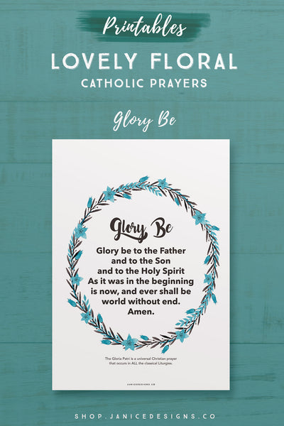 Prayer: Glory Be