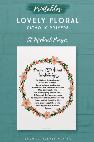 Prayer: St Michael Prayer
