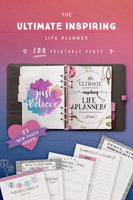 Ultimate Inspiring Life Planner (200 Pages)