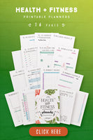Health And Fitness Planner (16 Pages)