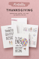 Whimsical Thanksgiving Printables*
