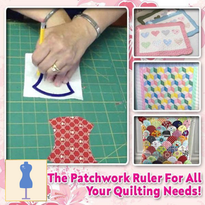 [PROMO 30% OFF] QuiltPro Patchwork Ruler