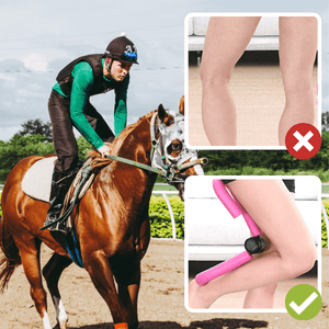 [PROMO 30% OFF] Equestrian Leg Clamp Trainer