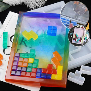 Craftish™️ Tetromino Block Puzzle Resin Kit