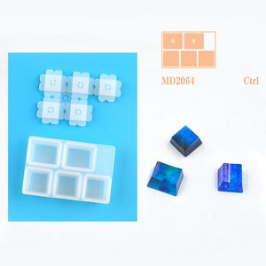 [PROMO 30% OFF] Keyboard Caps Resin Mold
