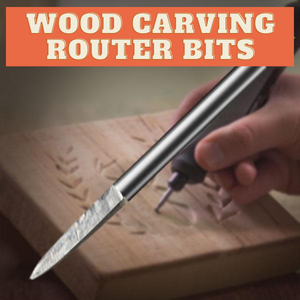 [PROMO 30% OFF] Wood Carving Router Bits