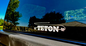 Teton Rod Decals