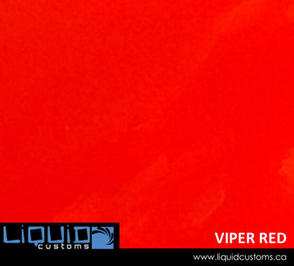 Viper Red Spray Can