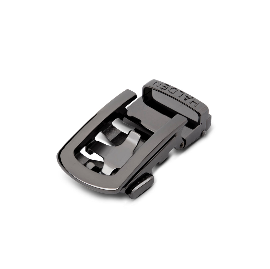 black glossy buckle