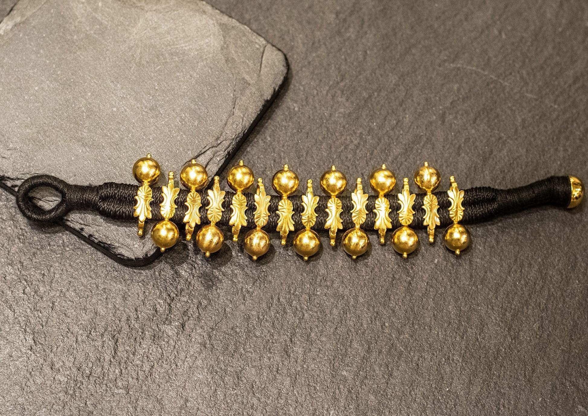 Amrapali Bracelets Tribal gold plated bracelet