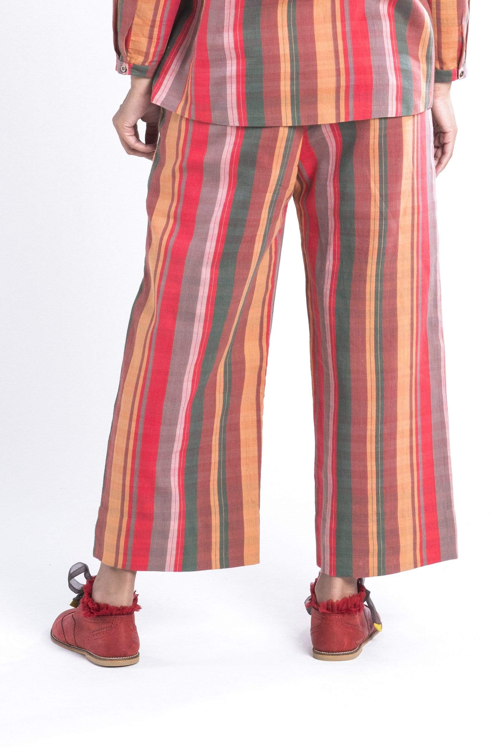 Anavila Bottoms Striped trousers