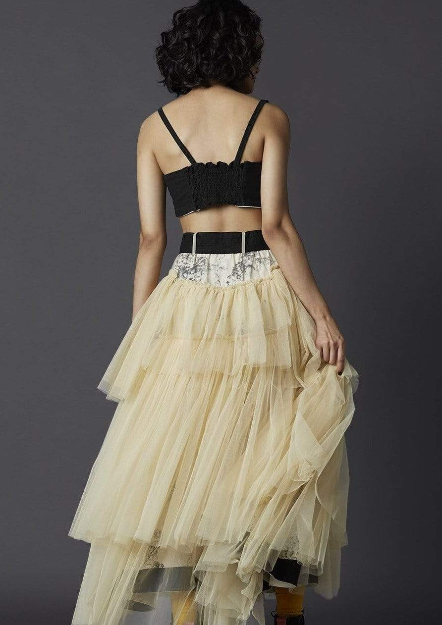 Chola Bottoms Tulle tier skirt