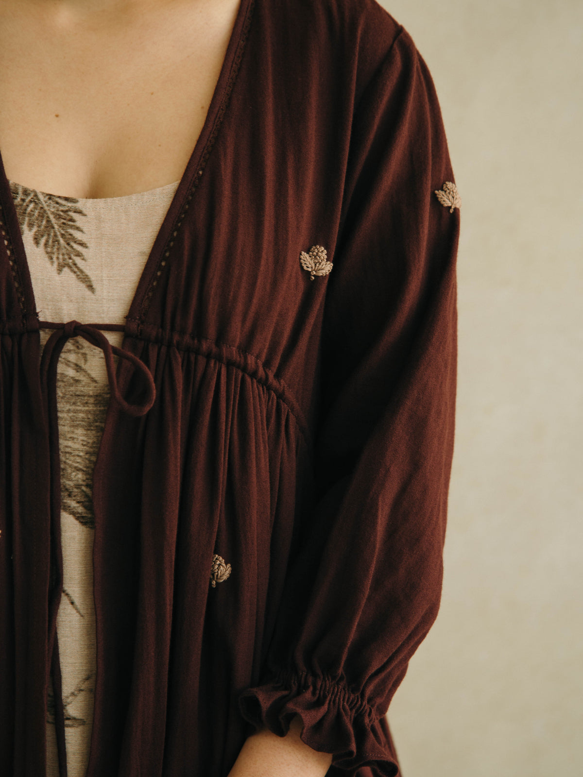 Cord Jackets Frail jacket in maroon