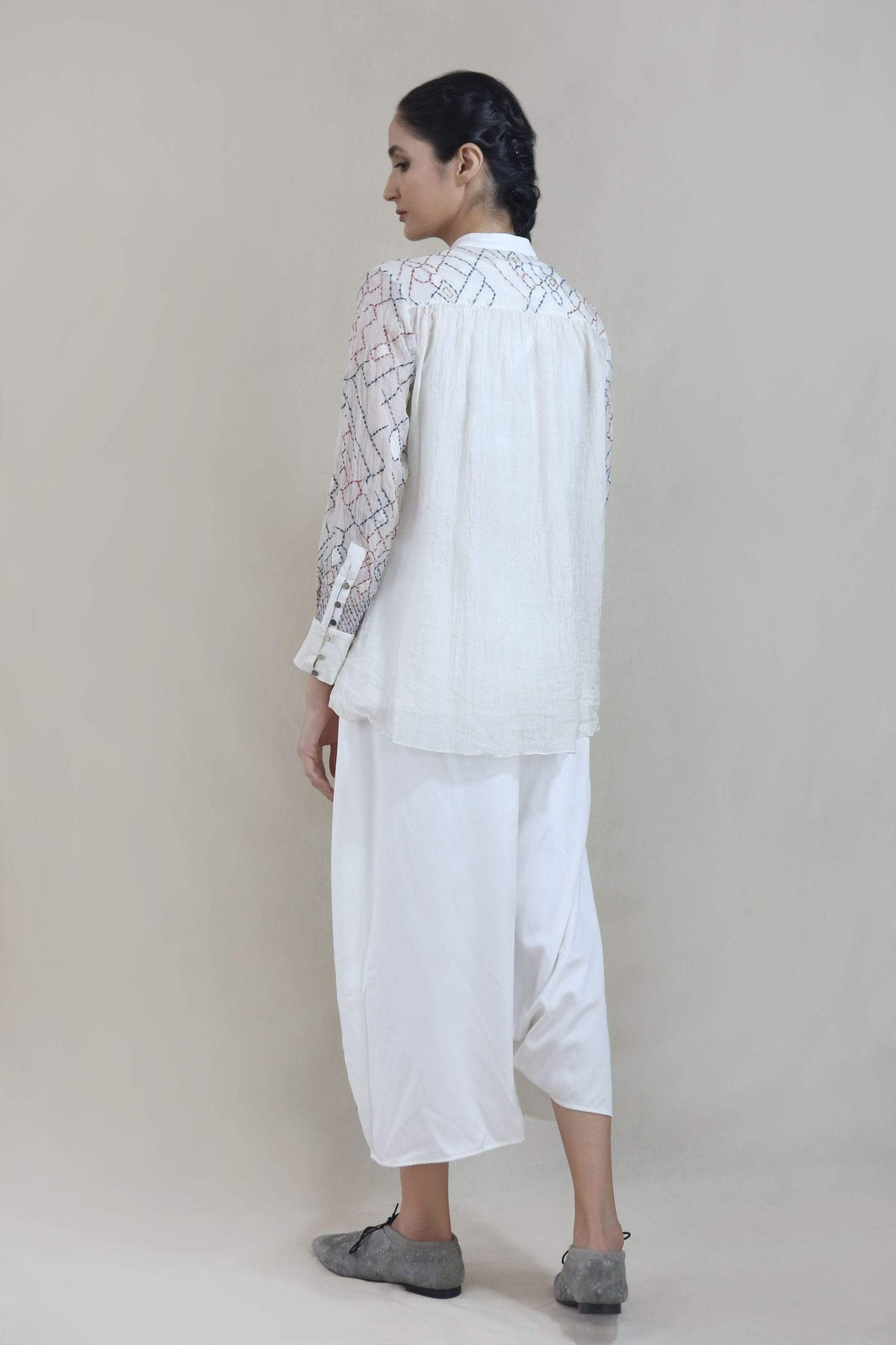 Integument Shirts & Tops Latice embroidered shirt