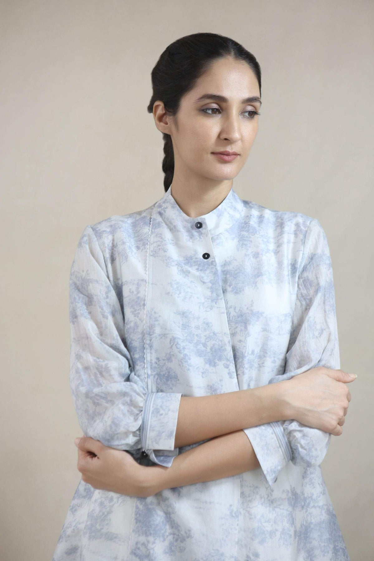 Integument Shirts & Tops Multi coloured asymmetric shirt