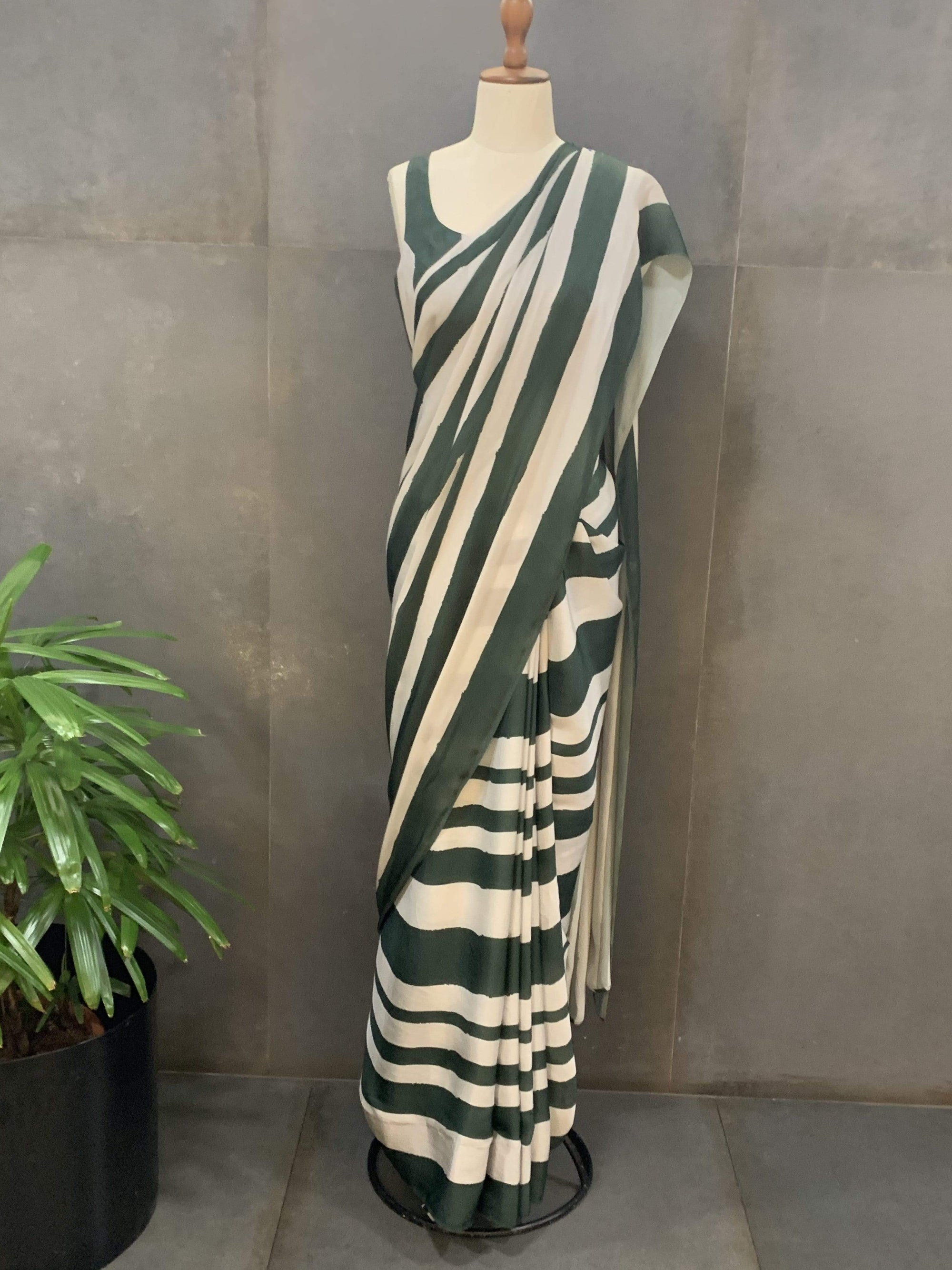 Koai Sarees Satin silk saree